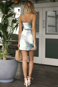 LOVE ISLAND MINI DRESS - SKY