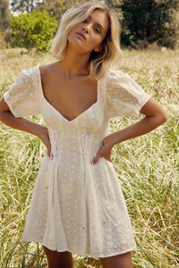 Arabella Dress - Ivory