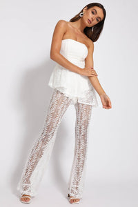 French Touch Jumpsuit - White