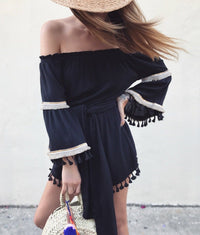 Willow Playsuit - Black