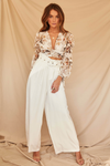 Dominica Pants-White