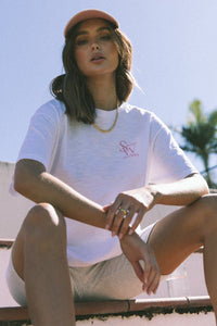 The Logo Tee - White