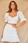 Tilly Skirt-White