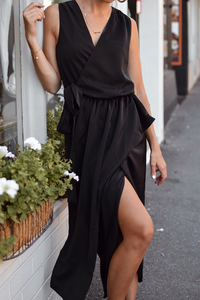 NURI WRAP DRESS