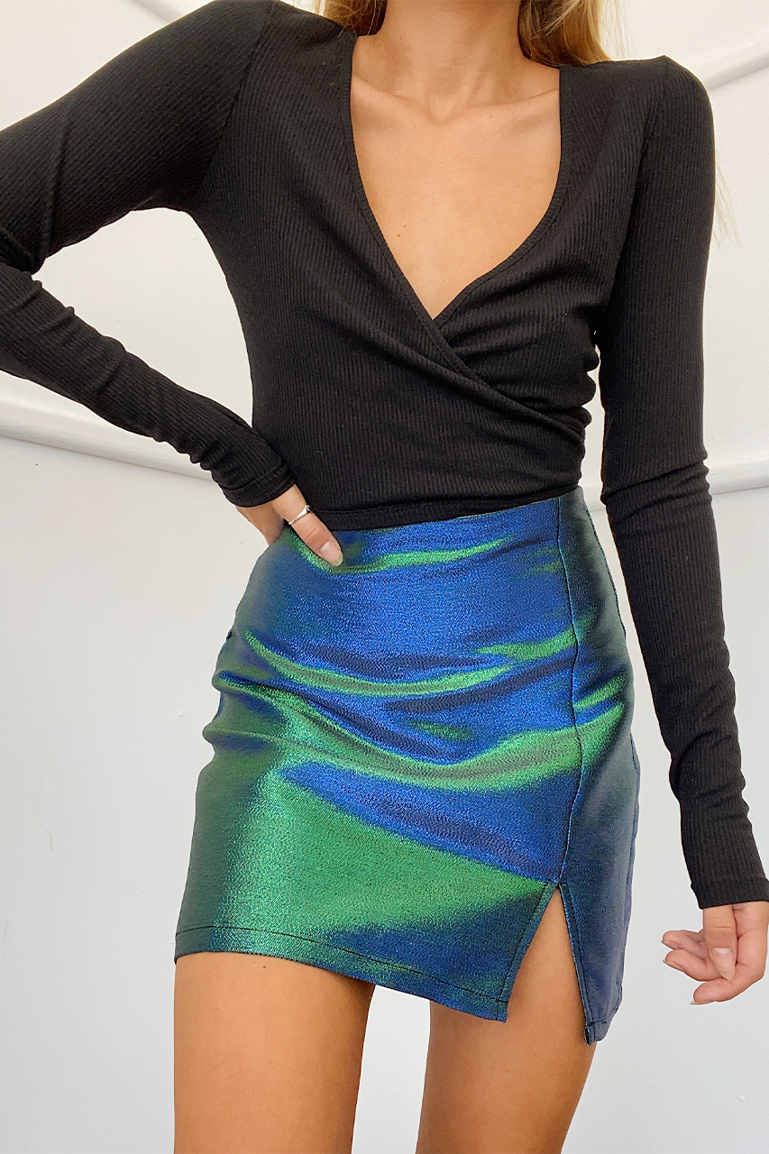 Gabriella Mini Skirt - Mermaid