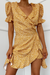 Shiloh Wrap Dress - Yellow