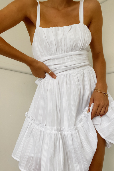 EVE DRESS -WHITE
