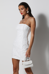 White Ivy Mini Dress - White