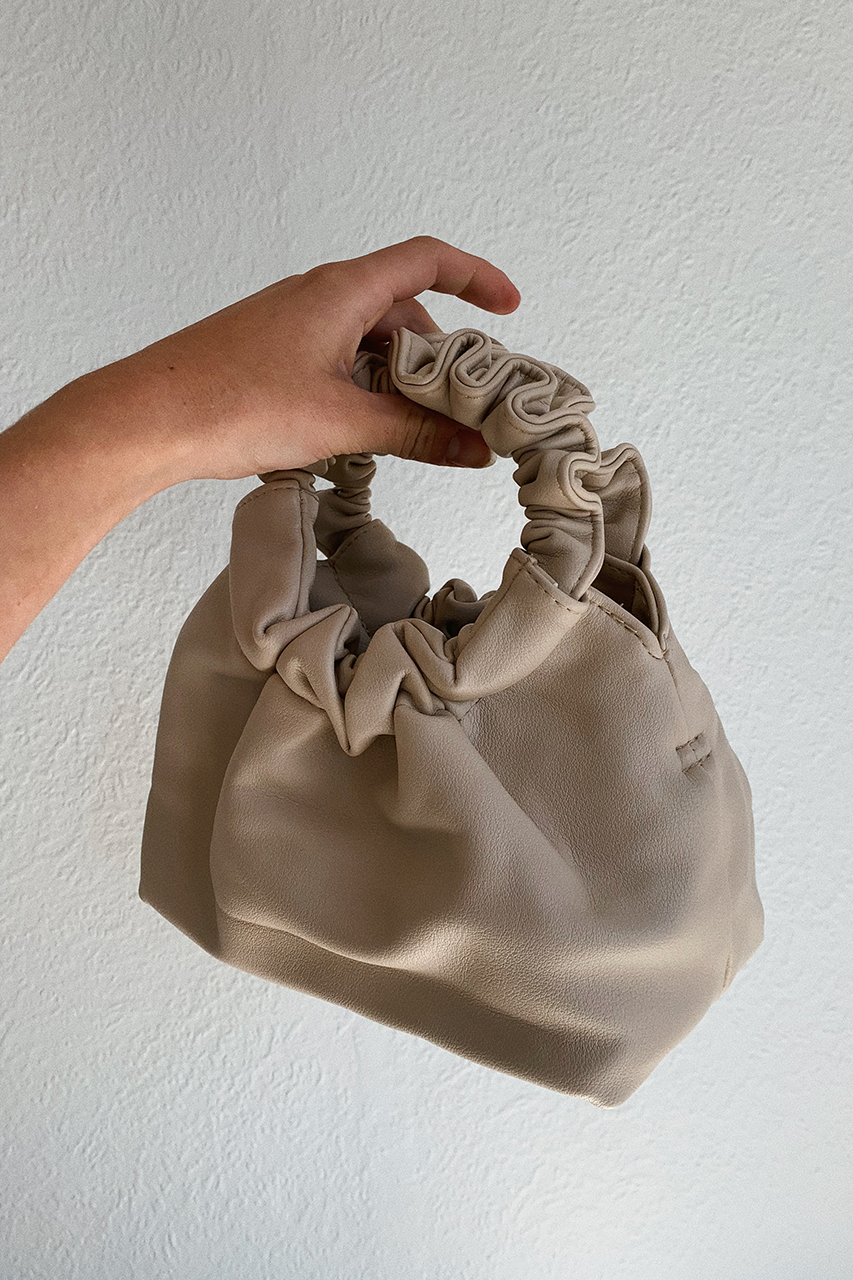 PUFF MINI BAG - BEIGE