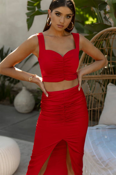 Quelle Top - Red