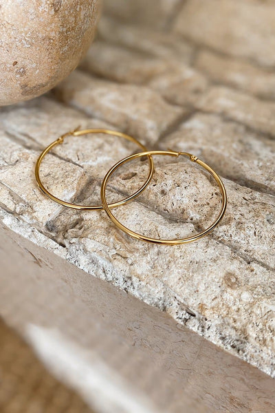 HARLEY HOOPS - GOLD
