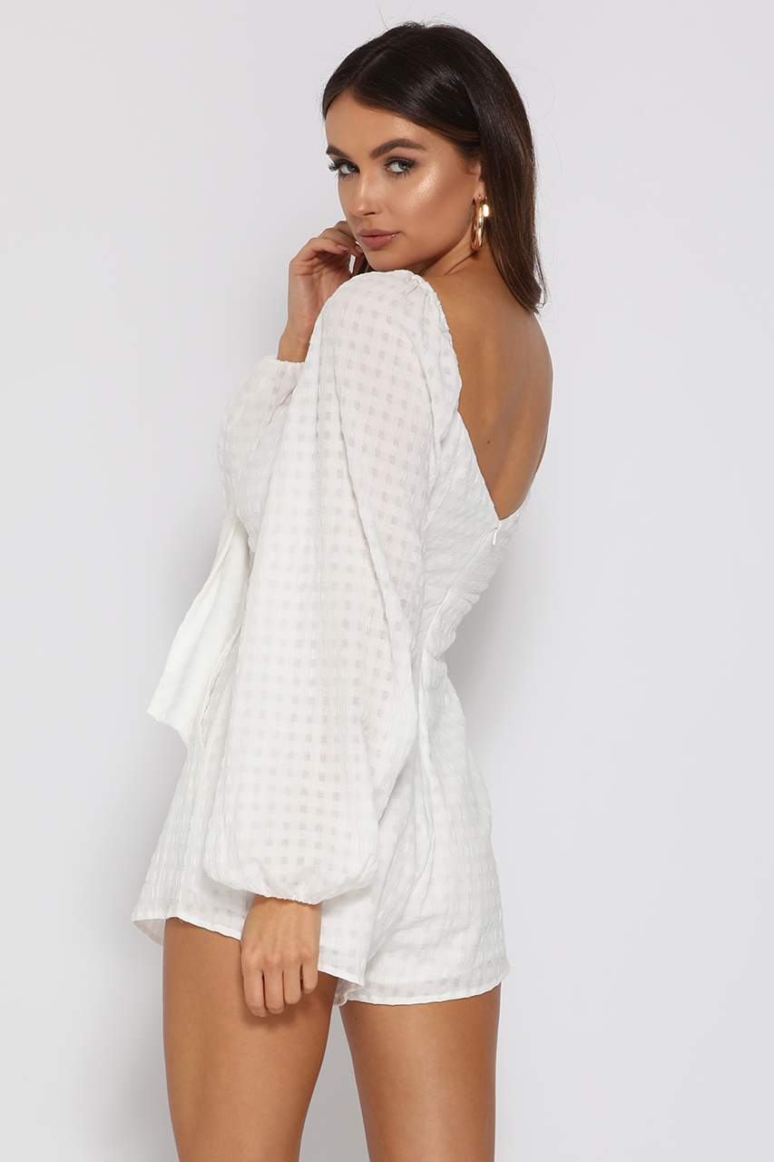 ROSA PLAYSUIT-WHITE