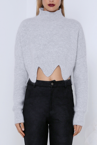 COMMAND CROP SWEATER