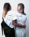 Partner In Crime Tee (Left) - White