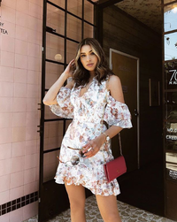 AMINA MINI DRESS