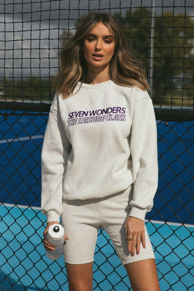 Seven Wonders Jumper - Snow Marle