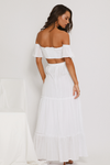 Eve Maxi Skirt - White