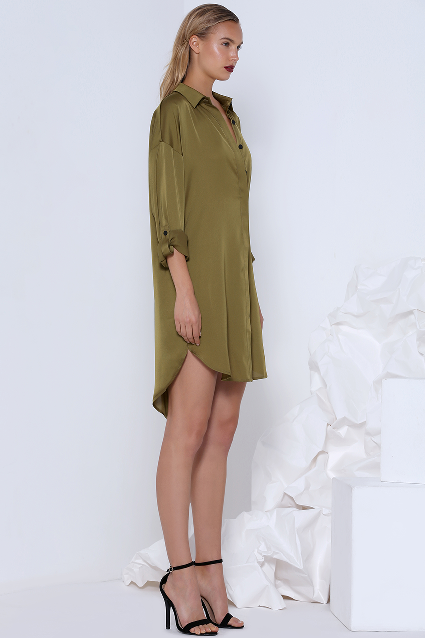 PIA SHIRT DRESS