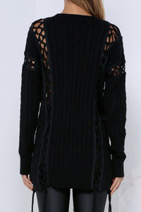 ALETA SWEATER - BLACK