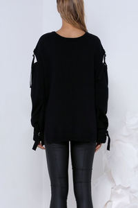 ROAMER SWEATER - BLACK
