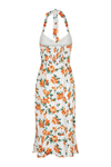 Esmerelda Midi Dress - Orange Floral