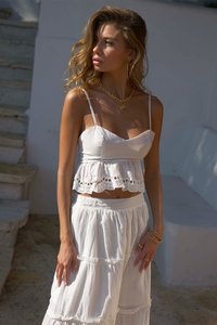 Ainsley Top - White