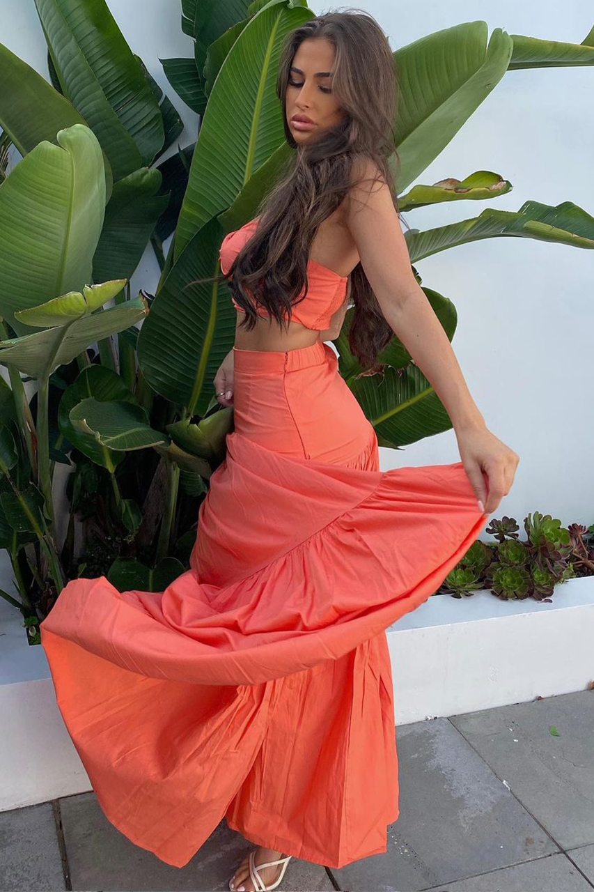 Ayla Maxi Skirt - Sunset