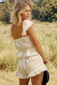 Claire Shorts - Ivory