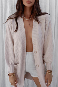 Marie Knit Cardigan - Sand
