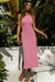 Barbados Dress - Bubblegum