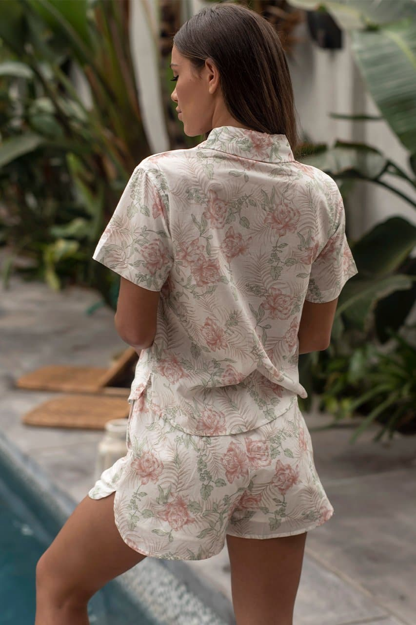 Barrymore Top - Pink Floral