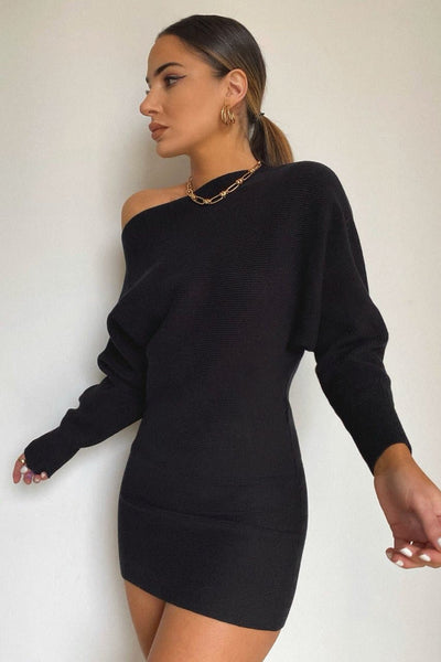 Bohdi Knit Dress - Black