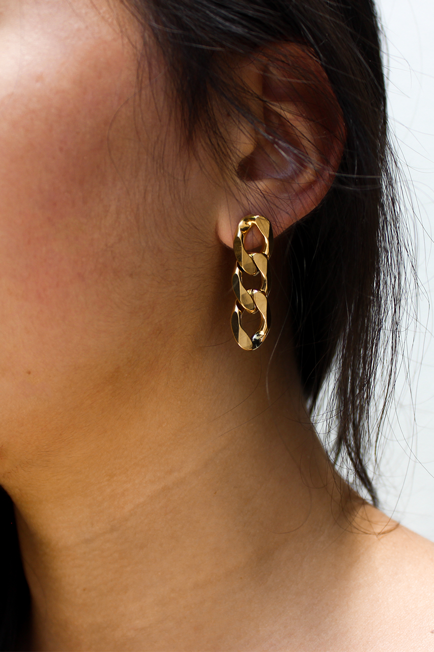 Bond Earrings - Gold