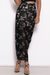 BOTANICA SKIRT - BLACK/SILVER