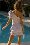 Bree Mini Dress - Sand Check