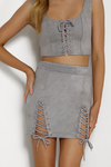 Bromley Mini Skirt - Dove