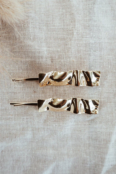 Foiled Hair Clips