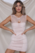 BABY BUSTIER DRESS - BLUSH