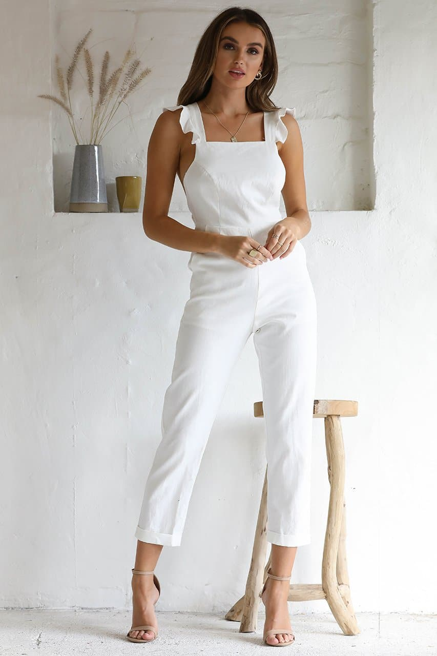 Dani Jumpsuit - White