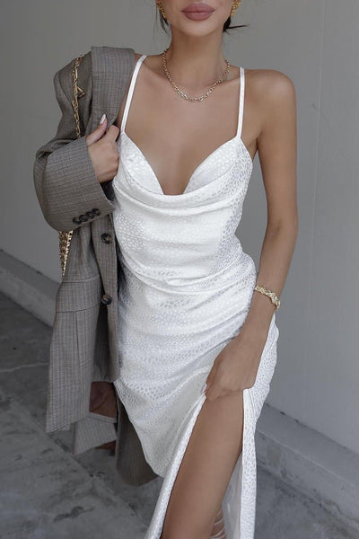 Isle Of White Slip Dress - White