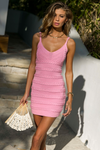 Dukes Mini Dress - Bubblegum