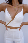 EFFIE TOP - WHITE