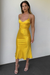 Electra Slip Dress - Yellow