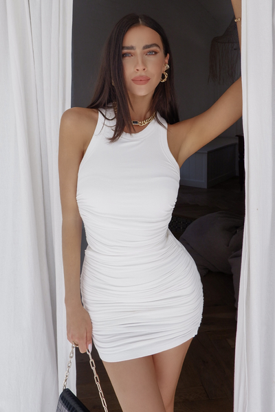 Essential Dress - White