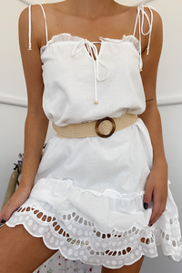 Alannah Dress - White