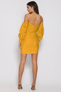 Natalia Mini Dress- Marigold