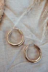 Thicc Earrings - Gold
