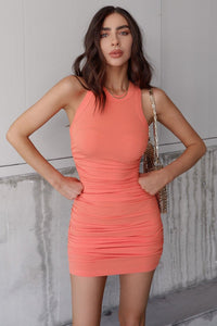 Essential Dress - Coral