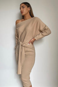 Indra Dress - Sand