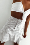 Runaway With Me Skirt - Stripe